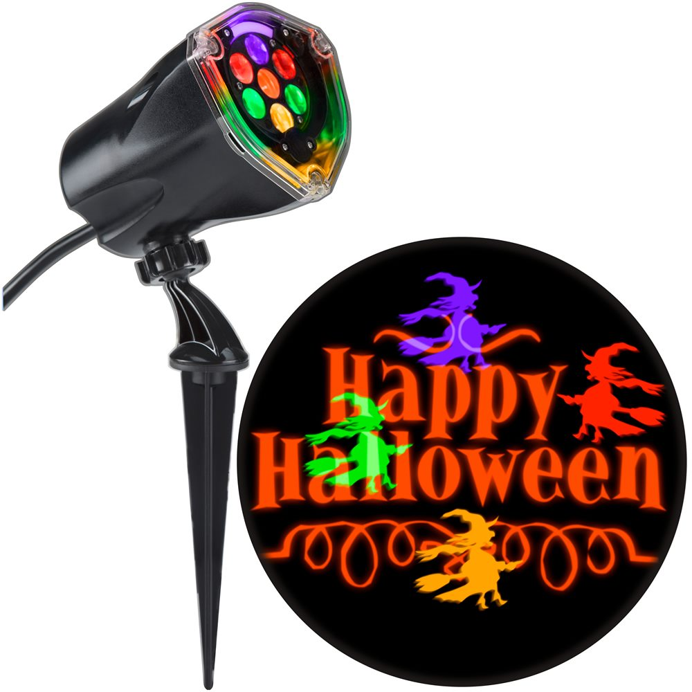 Picture of Happy Halloween Whirl-A-Motion Outdoor Lightshow