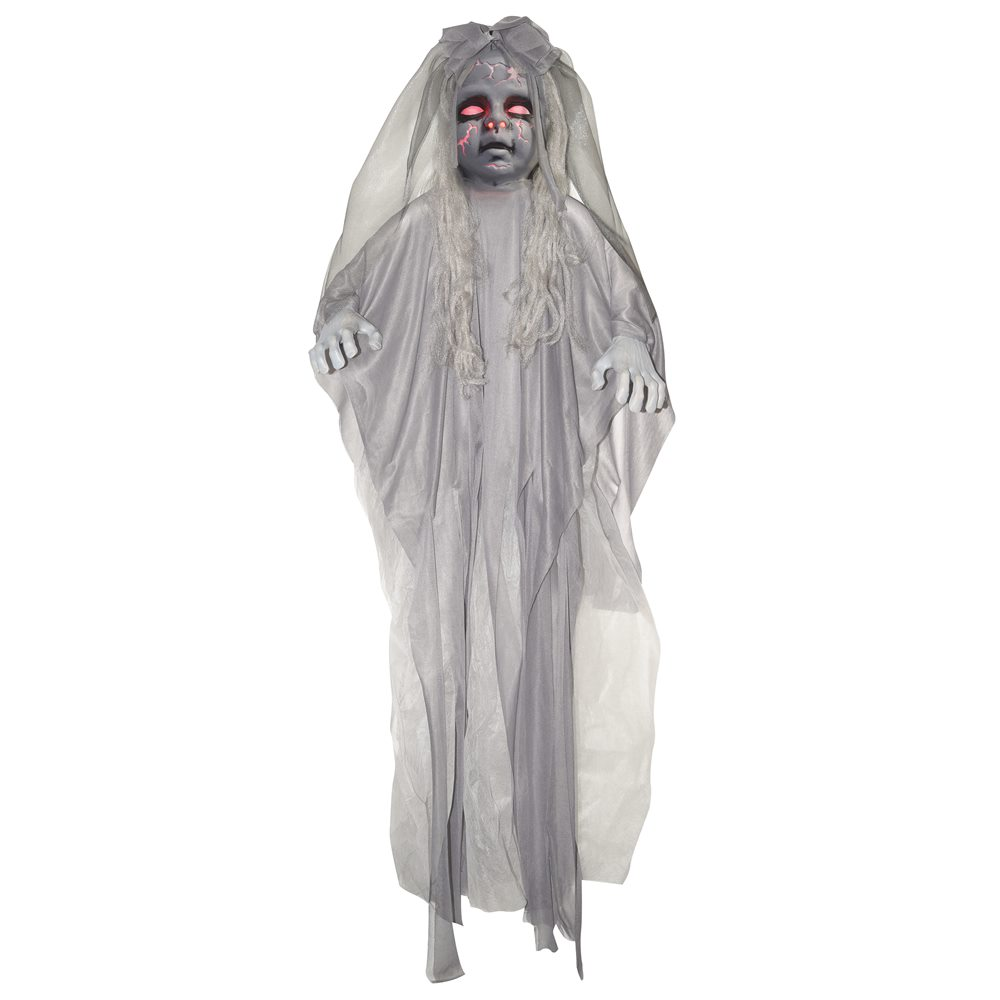 Picture of Light-Up Ghostly Girl Hanging Prop