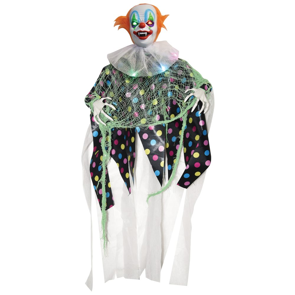 Picture of Bubbles the Light-Up Clown Hanging Prop