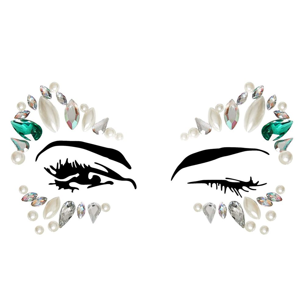 Picture of Sena Adhesive Face Sticker Jewels