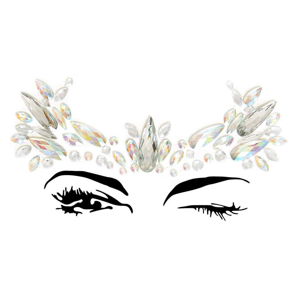Picture of Elora Adhesive Face Sticker Jewels