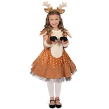 Picture of Doe the Deer Dress Child Costume