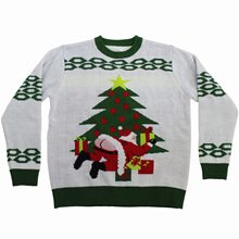 Picture of Butt Crack Santa Ugly Christmas Sweater