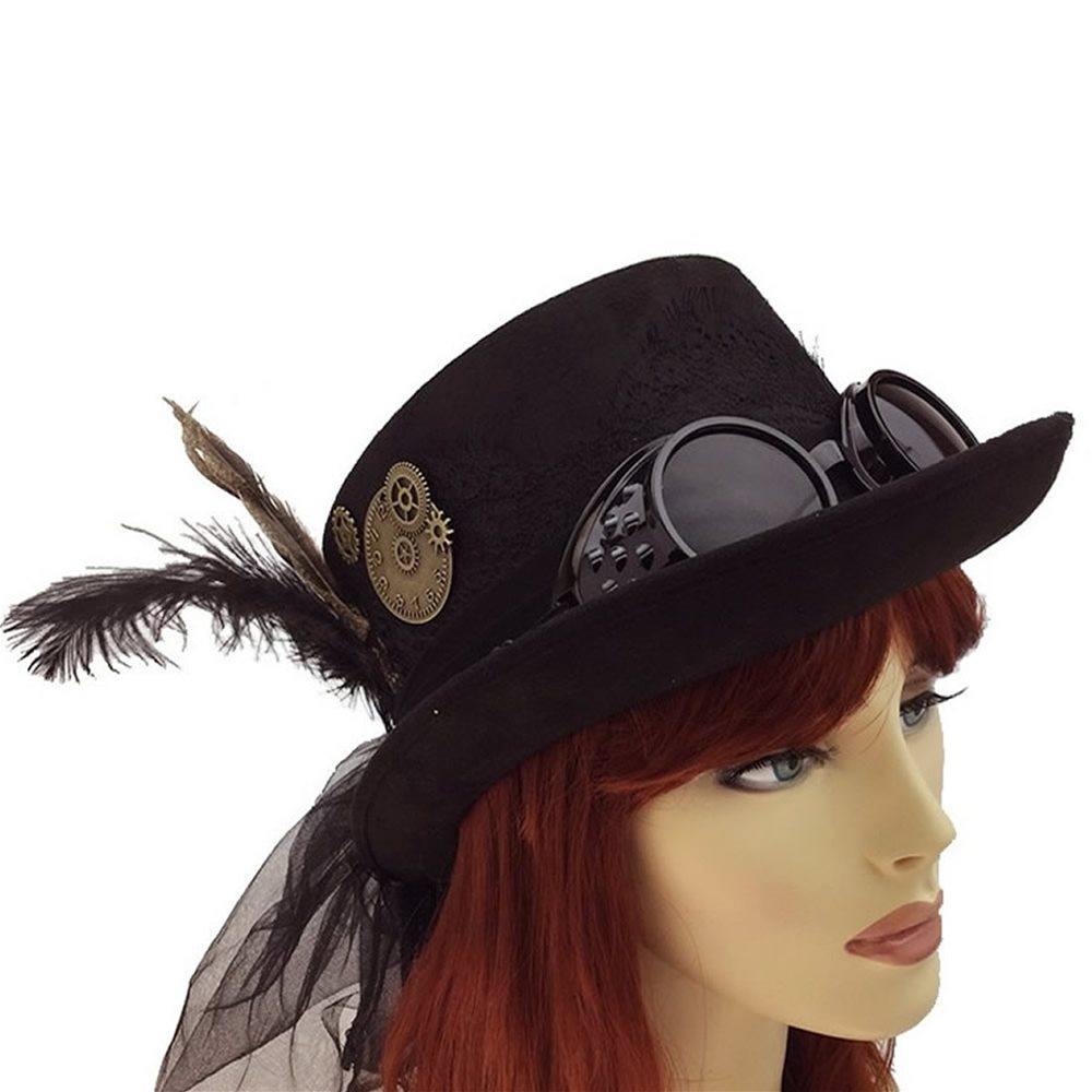 Picture of Black Steampunk Hat (Coming Soon)
