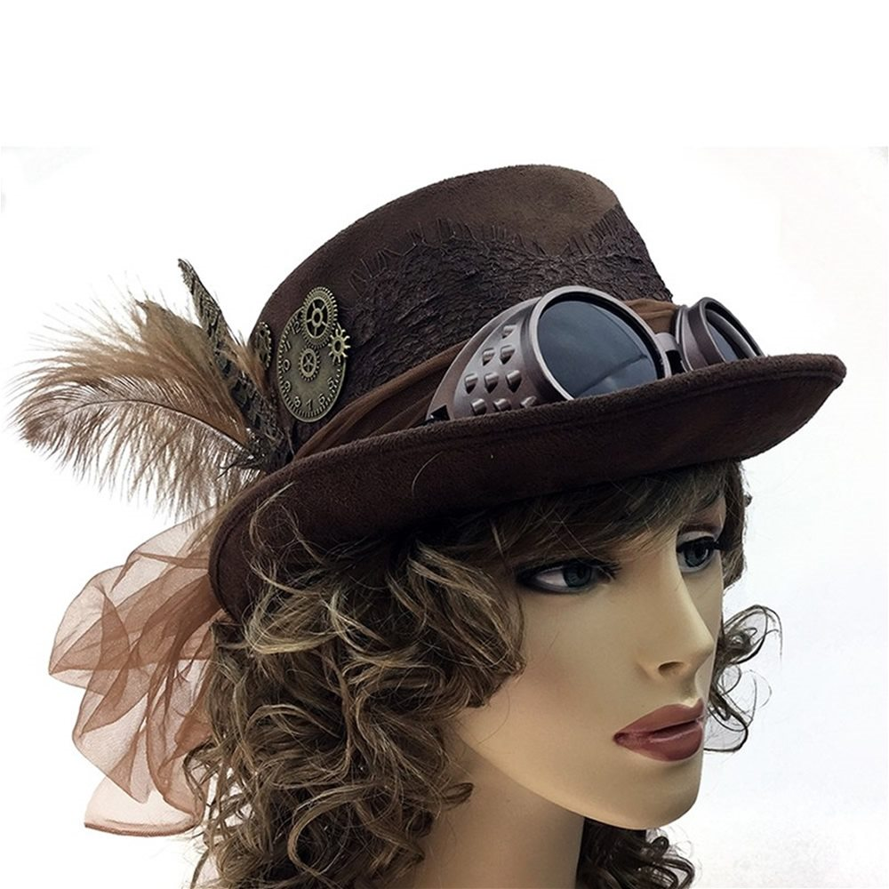Picture of Brown Steampunk Hat (Coming Soon)