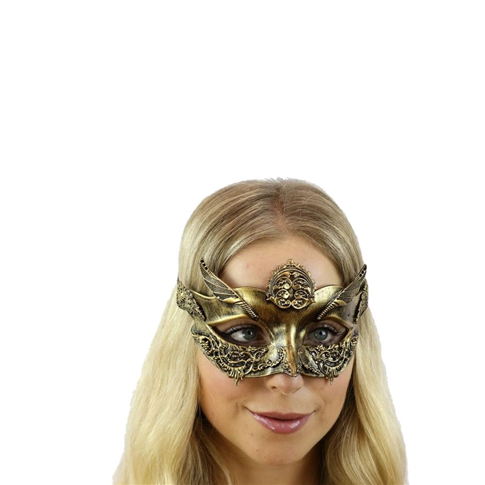 Picture of Gold Eye Mask with Wings (Coming Soon)