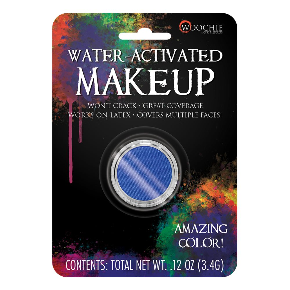 Picture of Blue Water-Activated Makeup