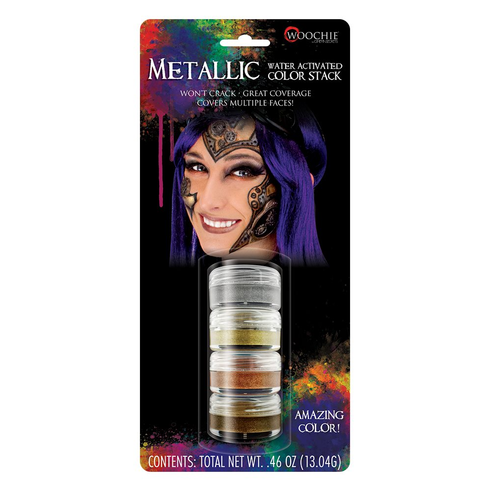 Picture of Metallic Water-Activated Makeup Stack