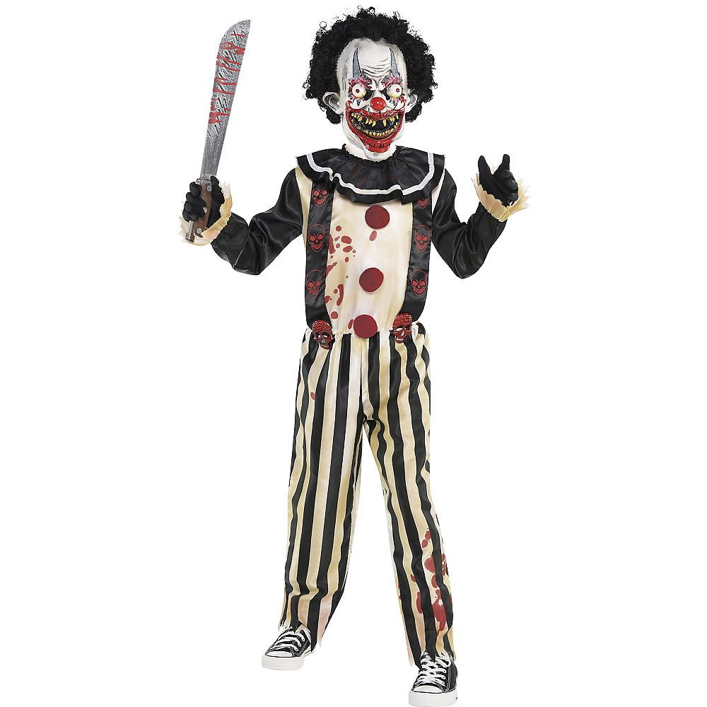 Picture of Slasher Clown Child Costume