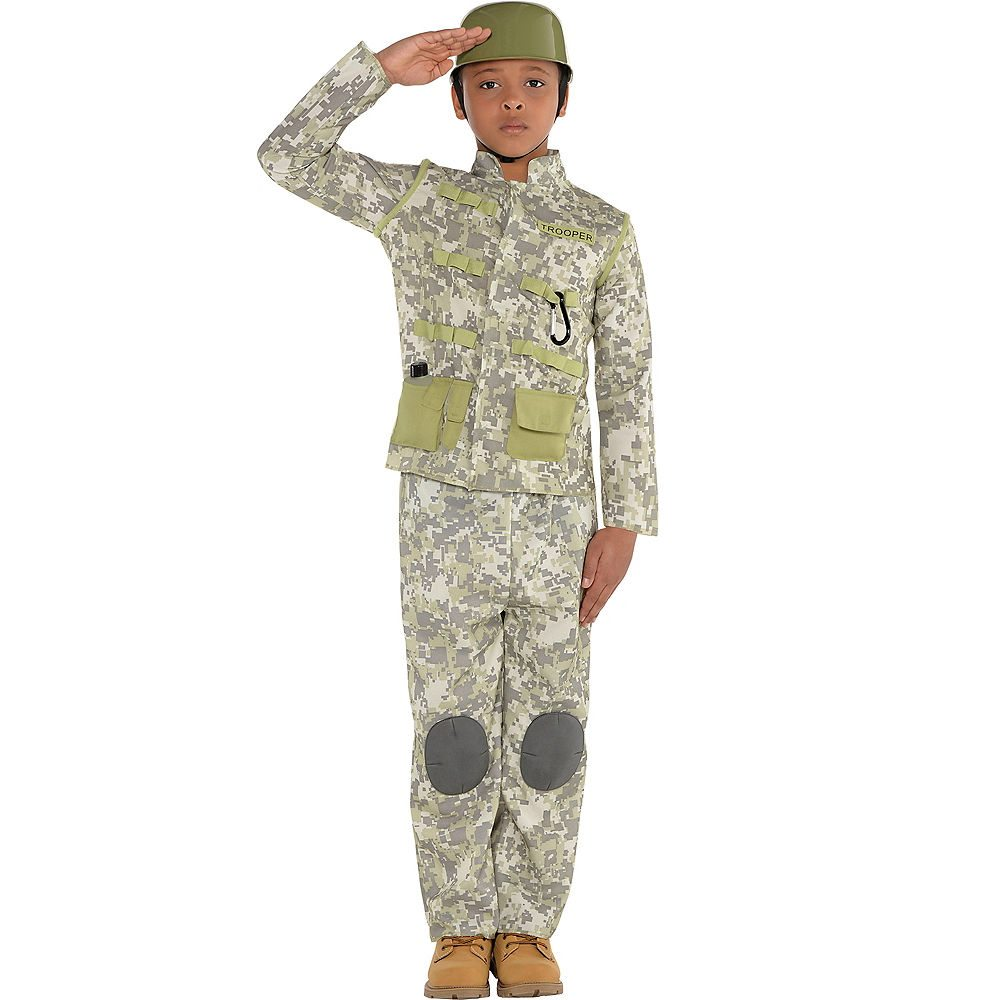 Picture of Combat Soldier Child Costume