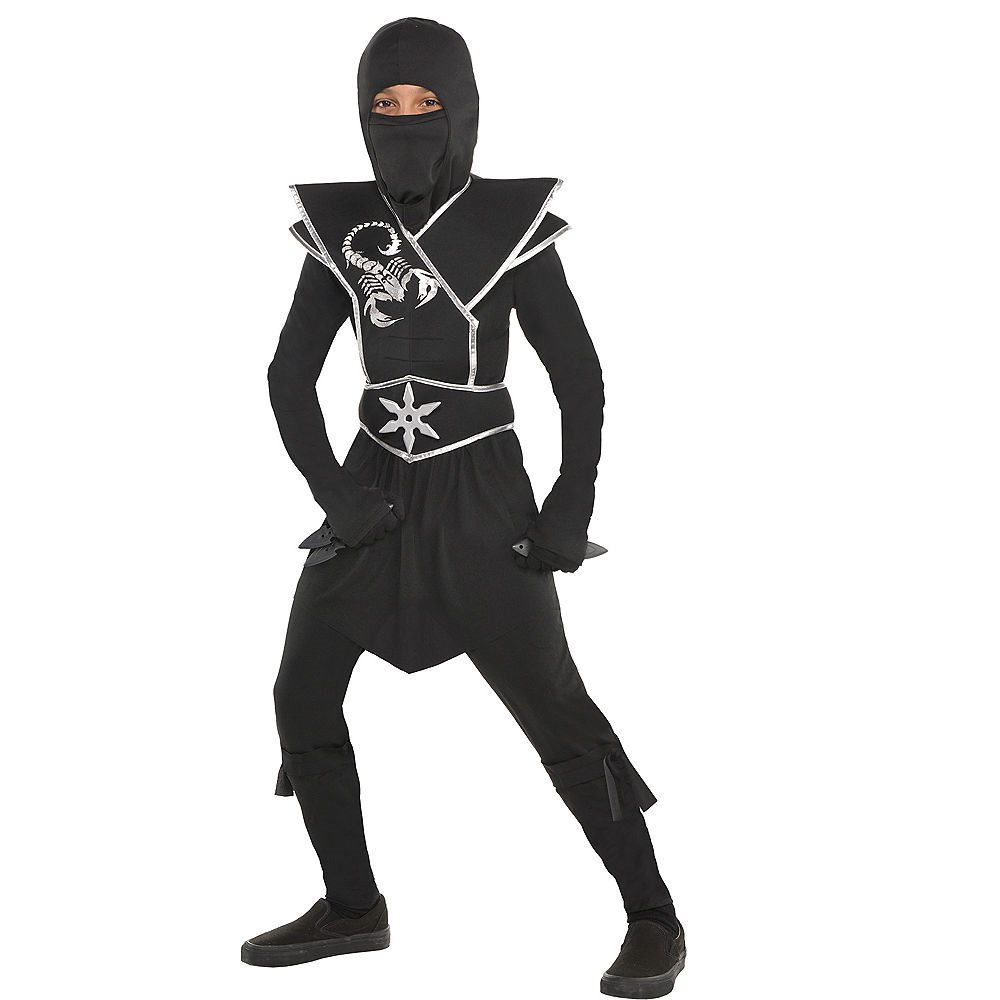 Picture of Black Ops Ninja Child Costume