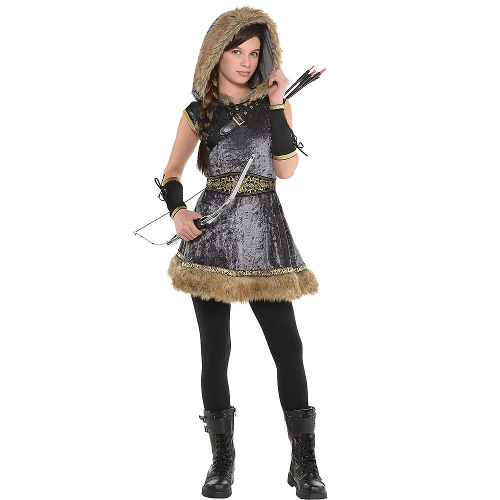 Picture of Miss Medieval Archer Child Costume