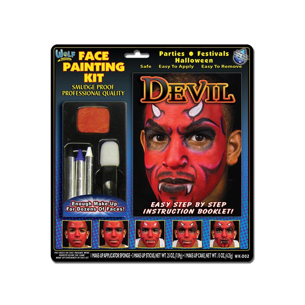Picture of Devil Face Painting Kit