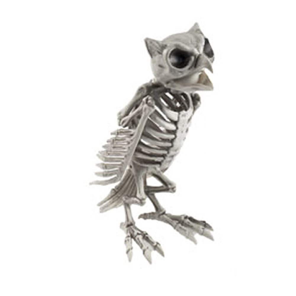 Picture of Skeleton Owl Prop 12in