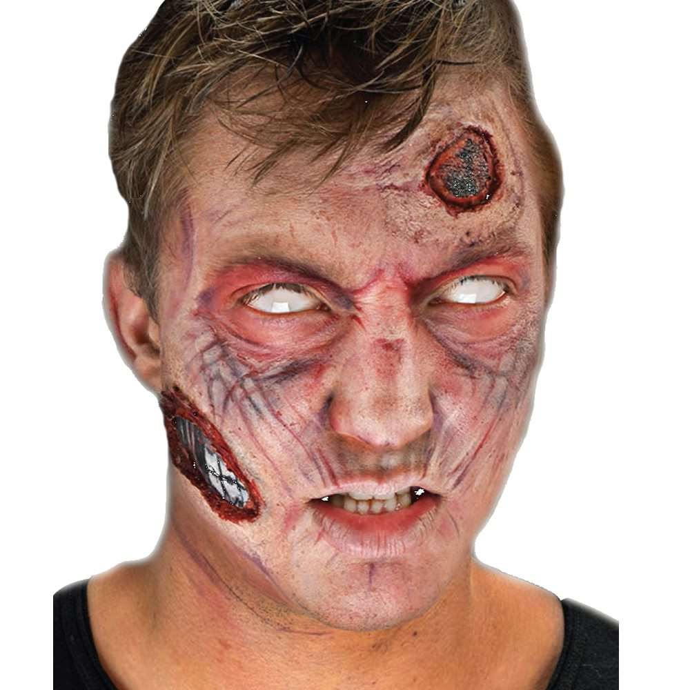 Picture of Zombie Complete 3D-FX Makeup Kit