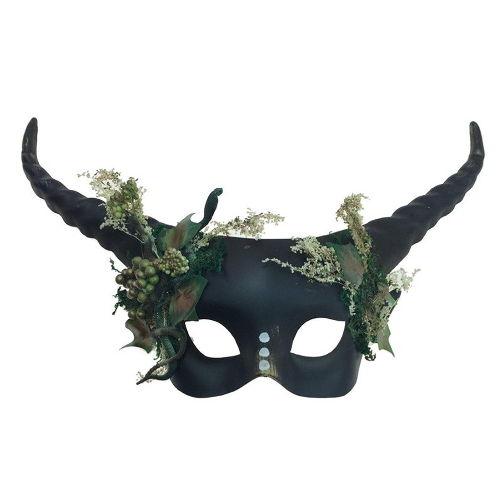 Picture of Mystical Forest Creature Horned Mask