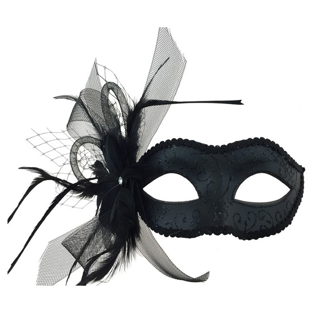 Picture of Black Masquerade Eye Mask