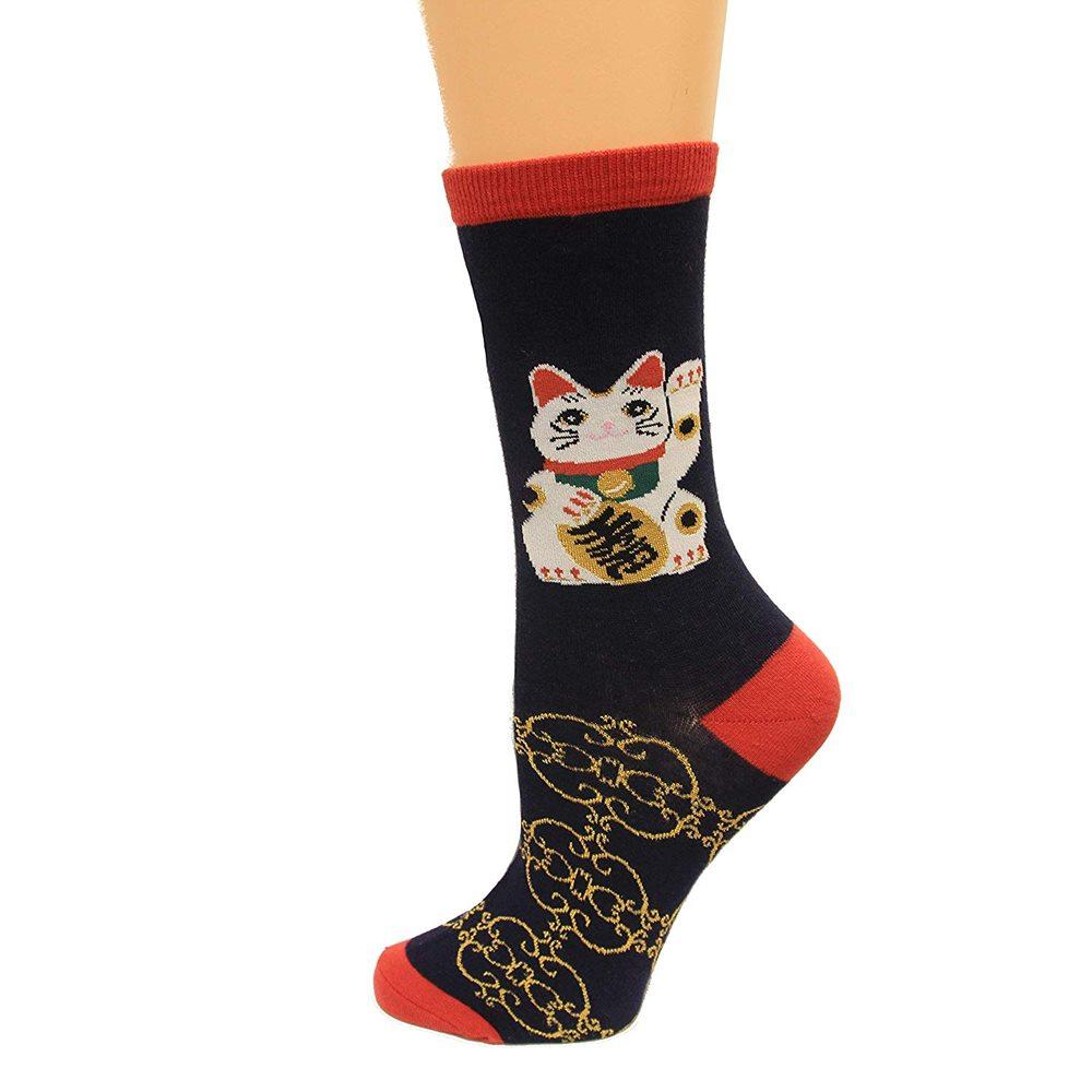 Picture of Money Cat Socks
