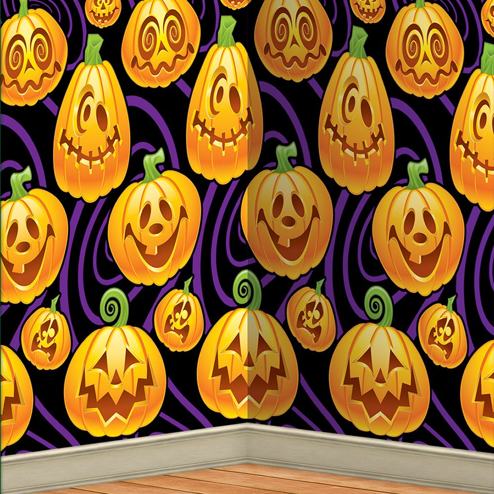 Picture of Jack-O-Lantern Backdrop
