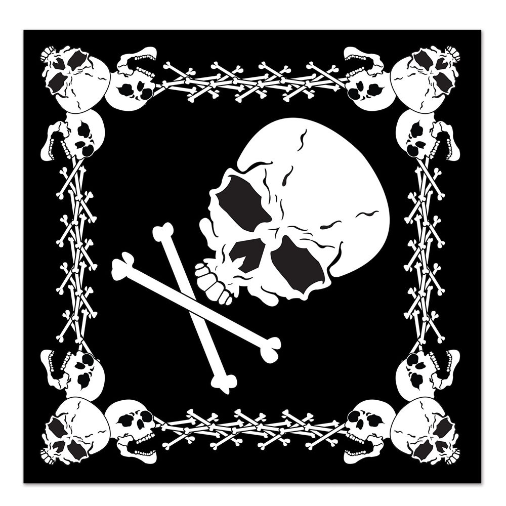 Picture of Skull & Crossbones Bandana