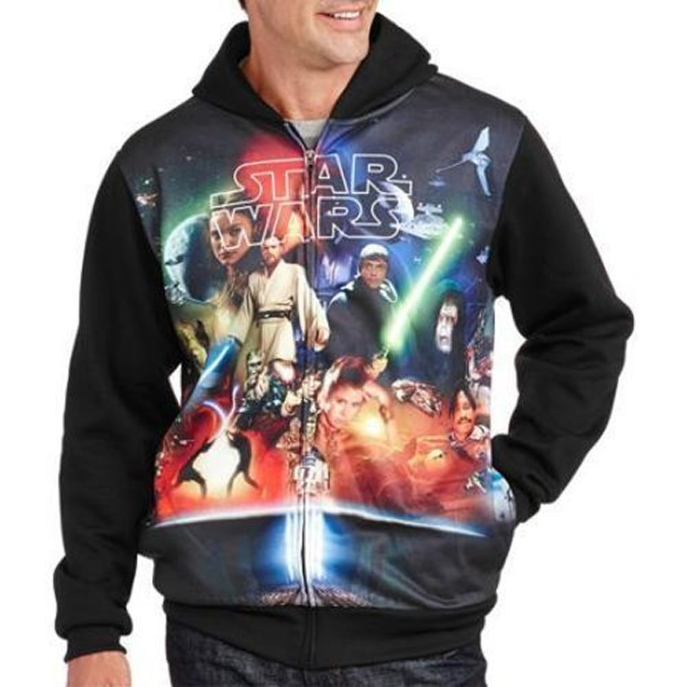 Picture of Star Wars Vintage Style Adult Mens Hoodie