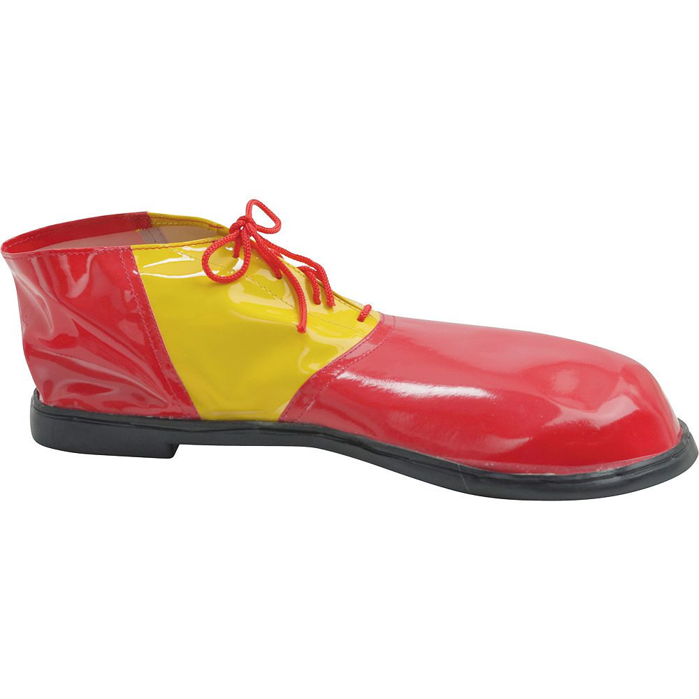 Picture of Red & Yellow Clown Shoes