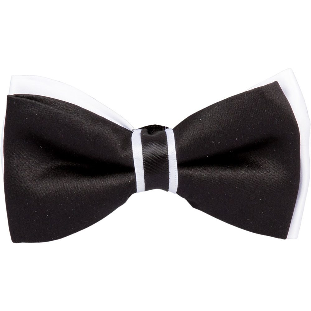 Picture of Roaring 20s Black & White Bow Tie