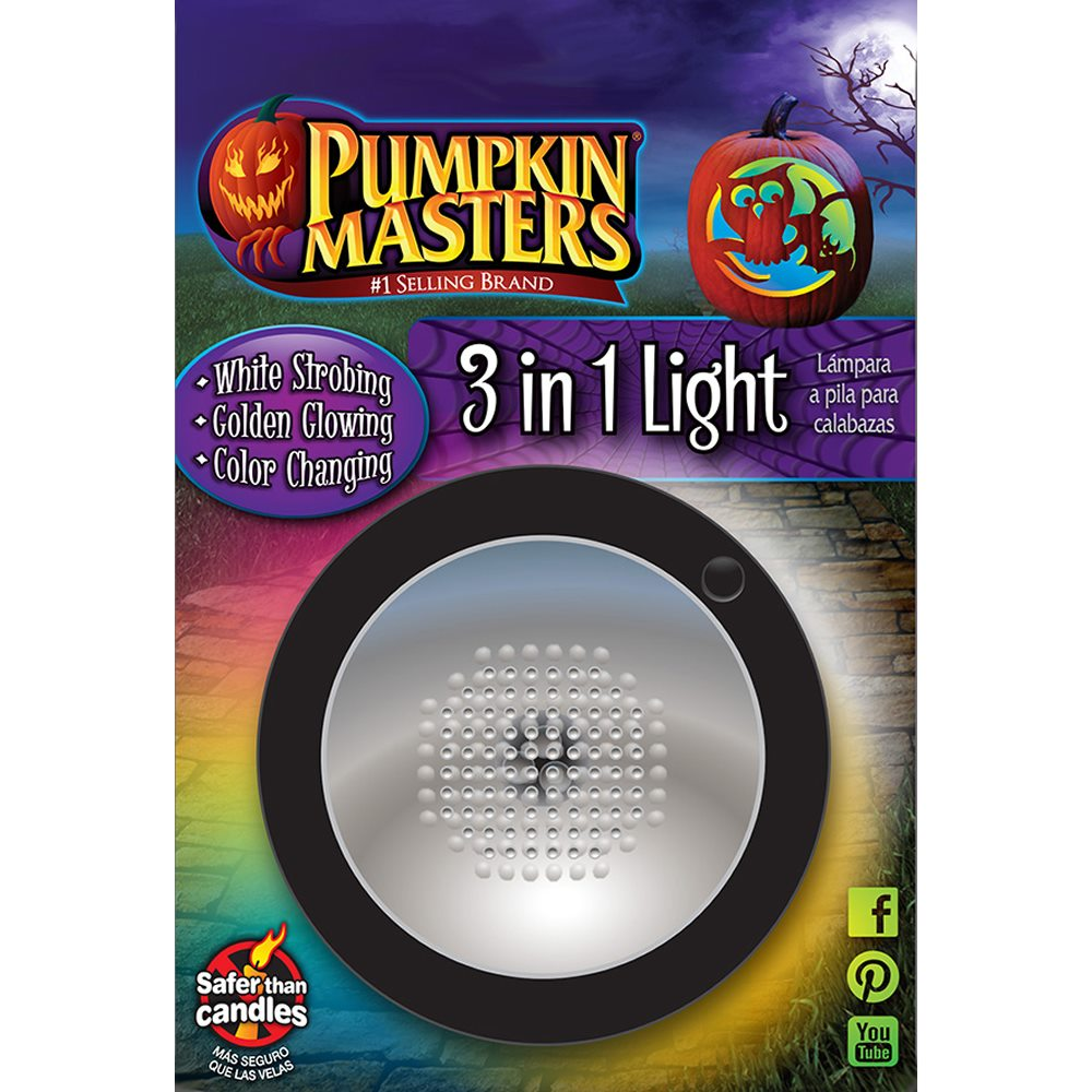 Picture of Pumpkin Masters 3 in 1 Strobe Light