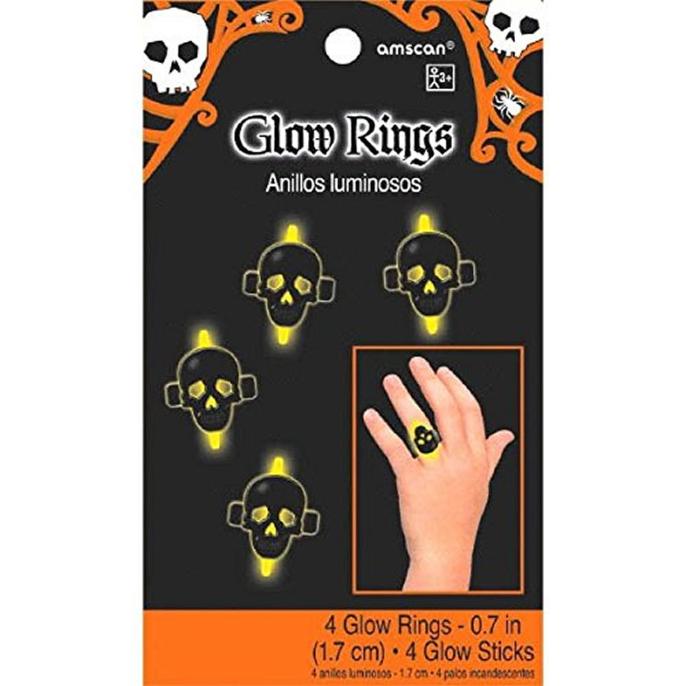 Picture of Skull Glow Rings 4ct
