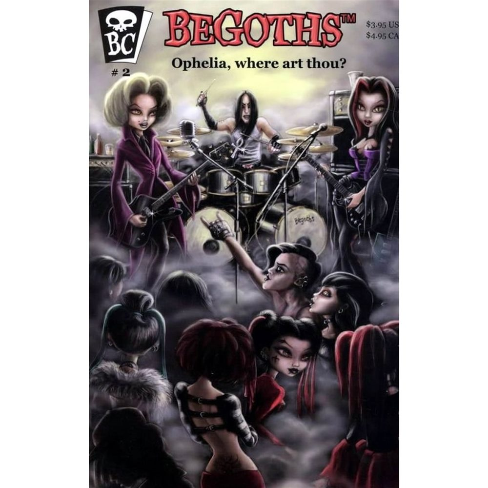 Picture of BeGoths Ophelia Art Thou Comic Book