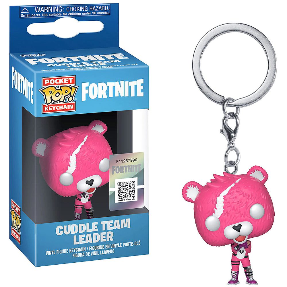Picture of Fortnite Cuddle Team Leader POP Keychain