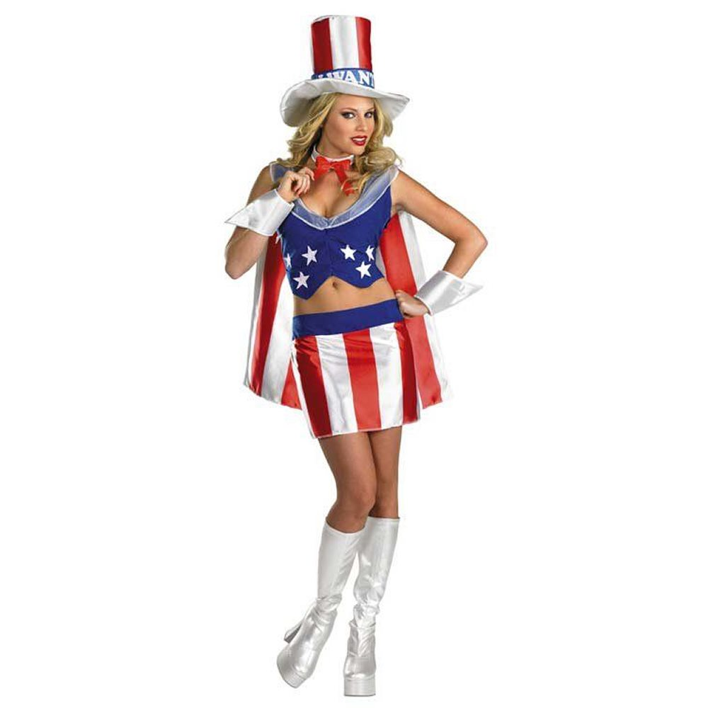 Picture of I Want You Patriotic Adult Womens Costume