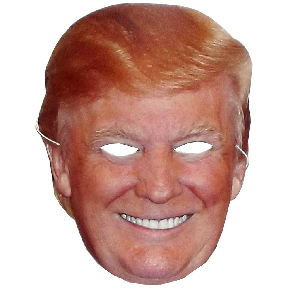 Picture of Donald Trump Smiling Paper Mask