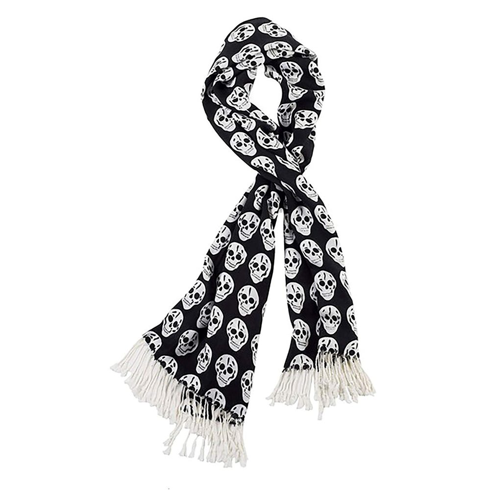 Picture of Black & White Skull Scarf