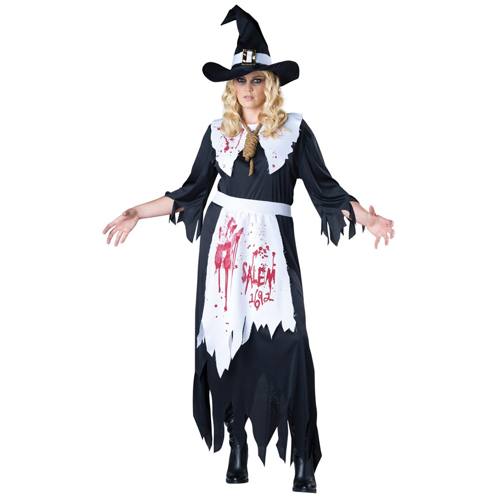 Picture of Salem Witch Adult Womens Plus Size Costume