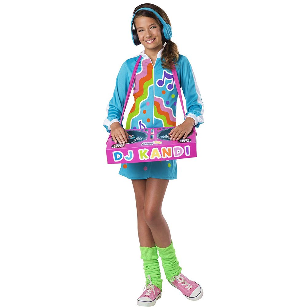 Picture of DJ Kool Kandi Tween Costume