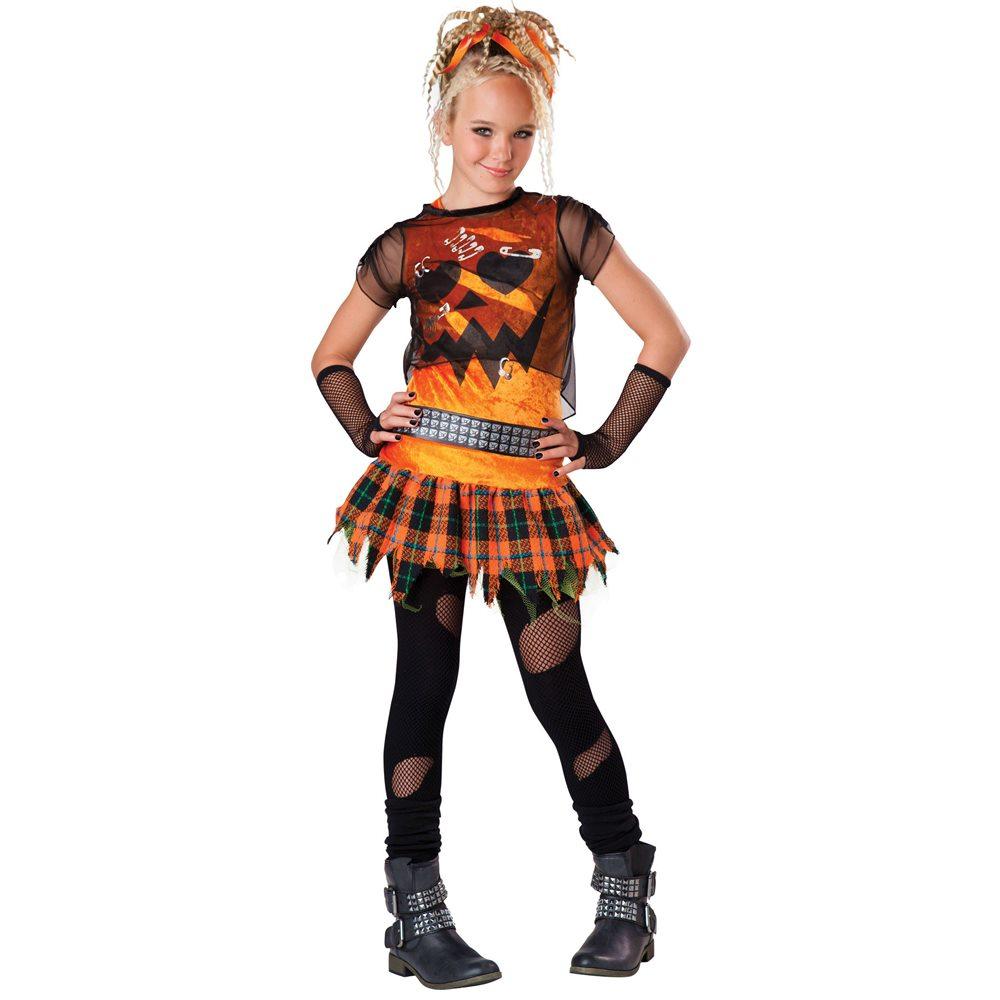 Picture of Punk 'N Dress Tween Costume