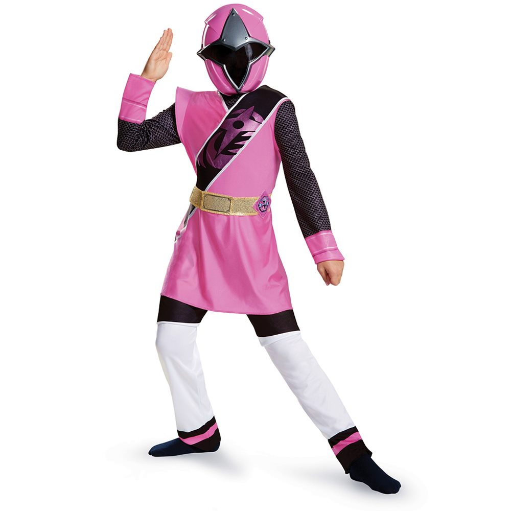 Picture of Ninja Steel Deluxe Pink Ranger Child Costume