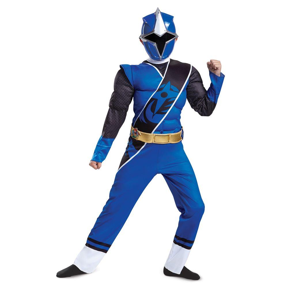 Picture of Ninja Steel Deluxe Blue Ranger Child Costume