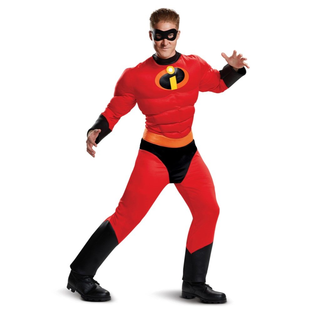 Picture of Mr. Incredible Classic Muscle Adult Mens Plus Size Costume