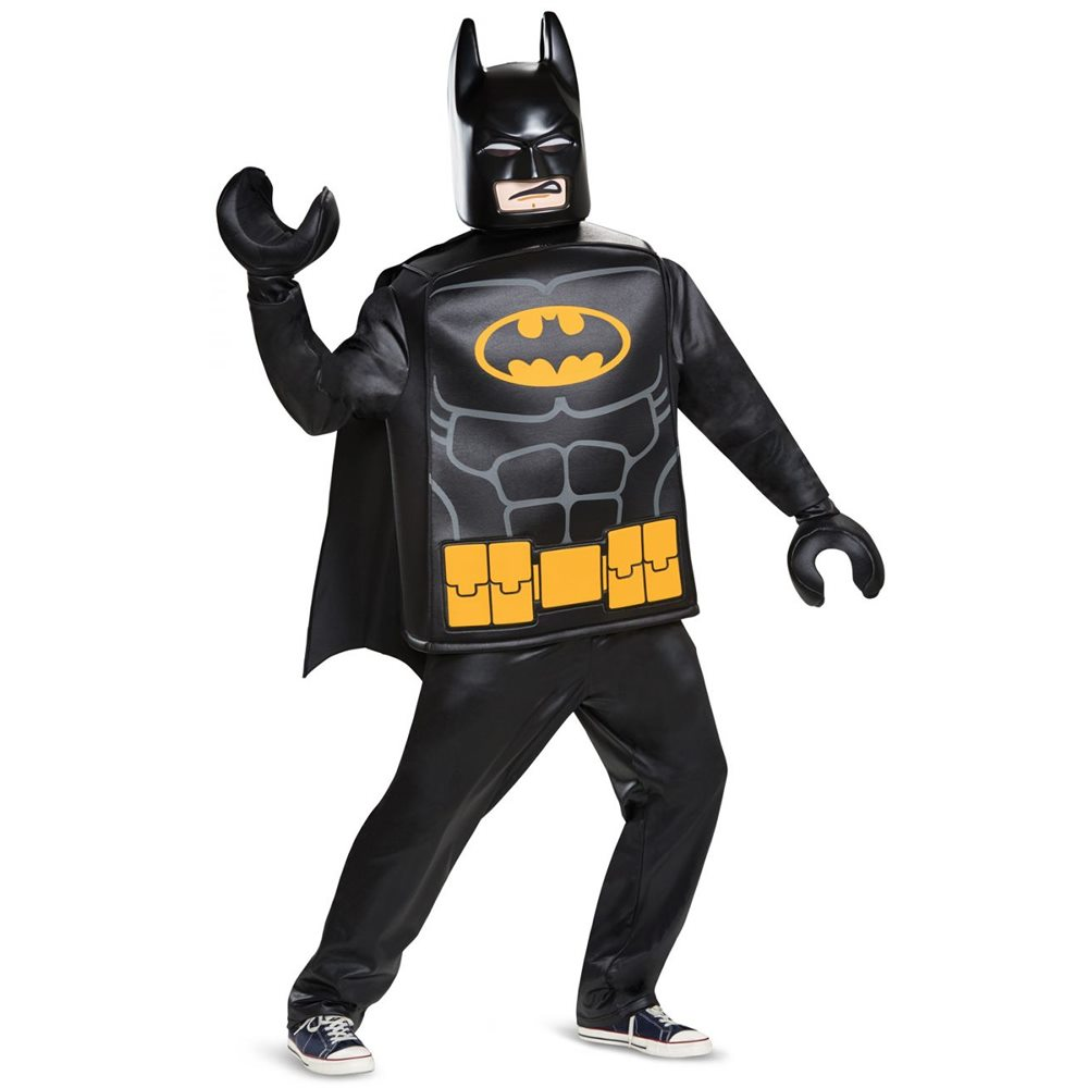 Picture of Lego Deluxe Batman Adult Mens Costume