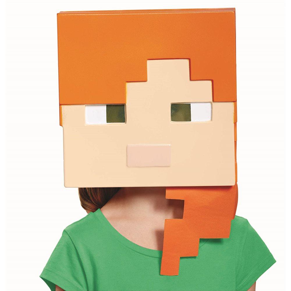 Picture of Minecraft Alex Child Half Mask