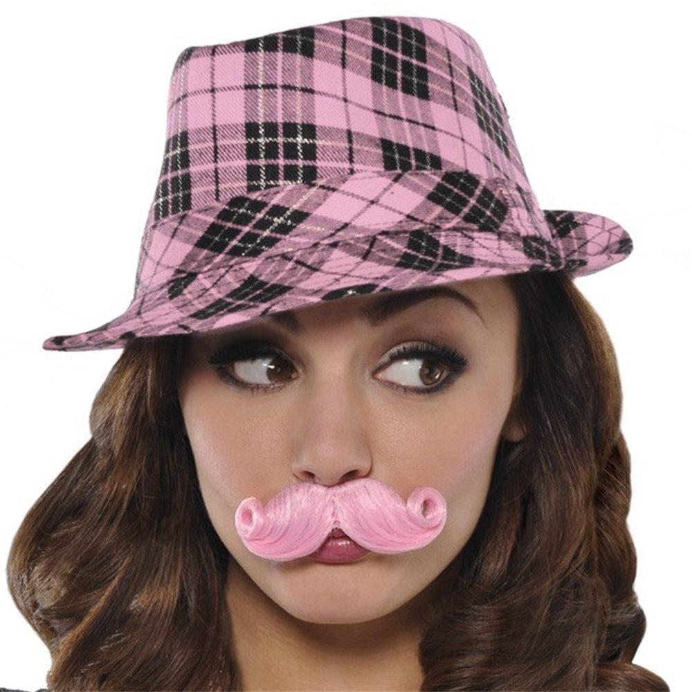 Picture of Pink Mini Handlebar Mustache