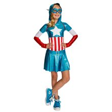 Picture of American Dream Hooded Dress Child Costume