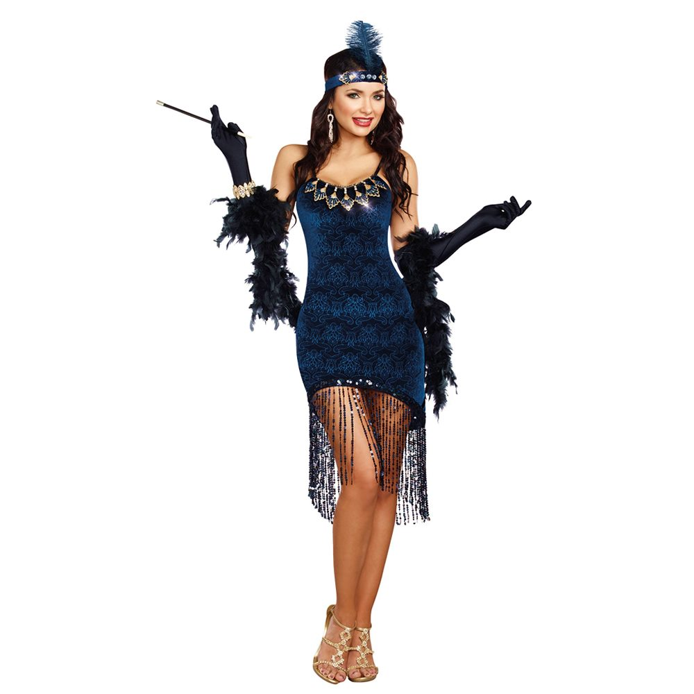 Picture of Downtown Doll Flapper Adult Womens Costume