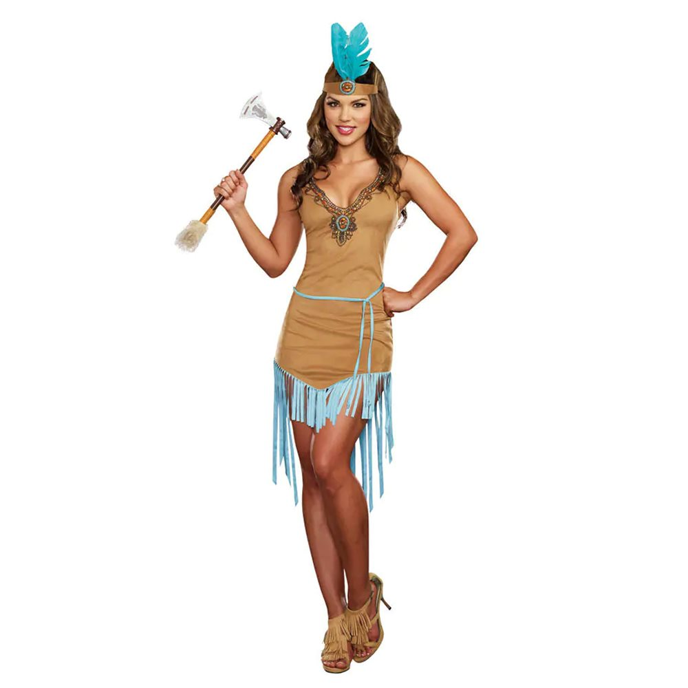 Picture of Native American Princess Adult Womens Costume