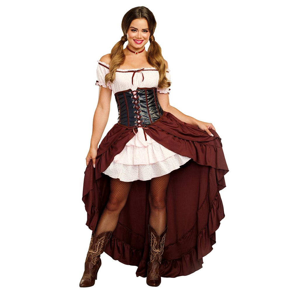 Picture of Western Saloon Gal Adult Womens Costume