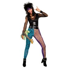 Picture of 80s Hair Band Rocker Adult Womens Costume