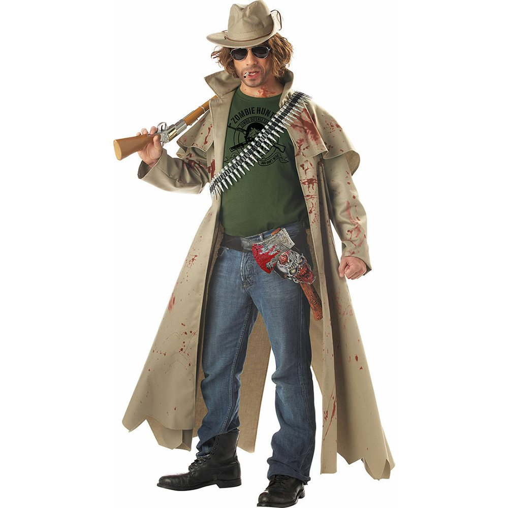 Picture of Zombie Hunter Adult Mens Costume