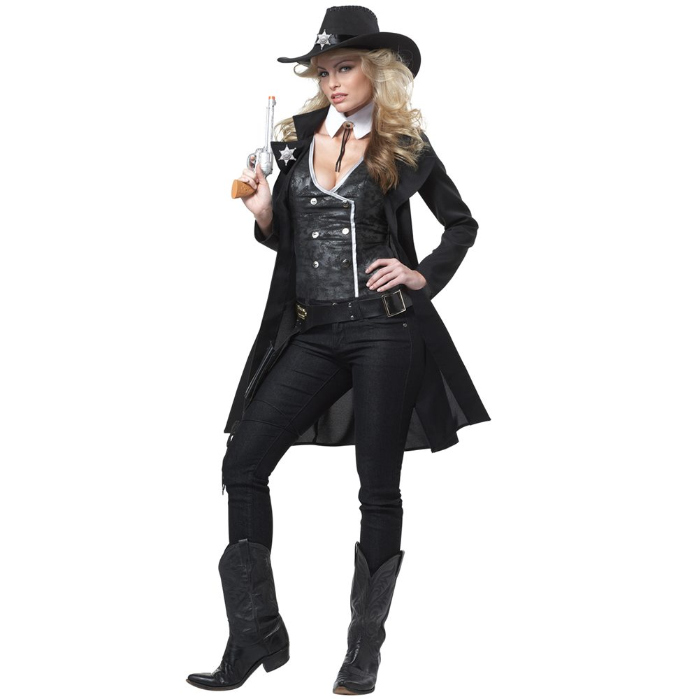 Picture of Round 'Em Up Cowgirl Adult Womens Costume